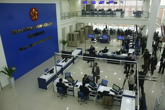 The largest administrative service center in Quang Ngai Province. Photo by Nguyen Trang.