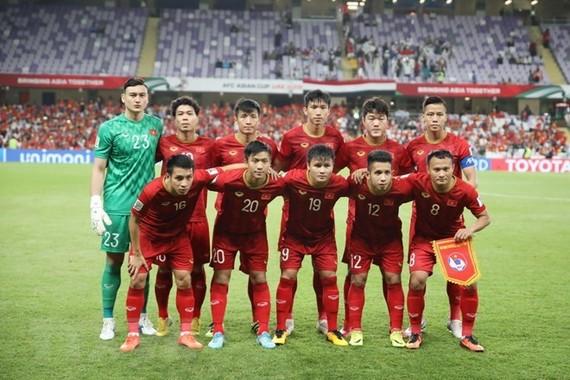 Vietnamese men's football team (Photo: VNA)