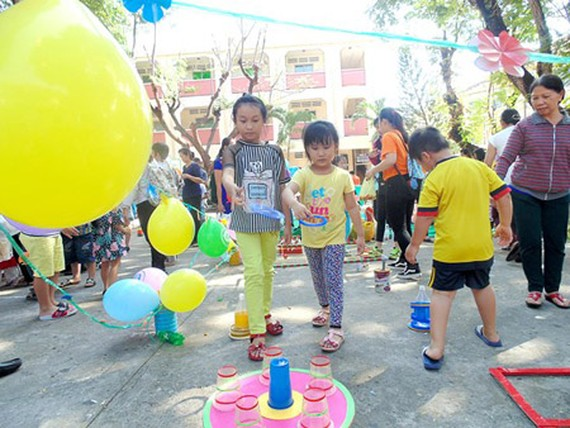 Children should join in healthy activities to play and learn at the same time in summer