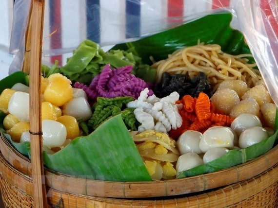 The 8th annual Southern Traditional Cakes Festival will take place in the Mekong Delta city of Can Tho from April 12-16. (Photo: VNA)