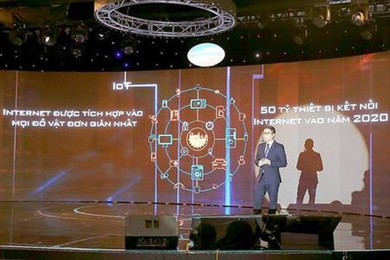 Viettel has eagerly participated in the digital transformation process to create new values. Photo by K.Thanh
