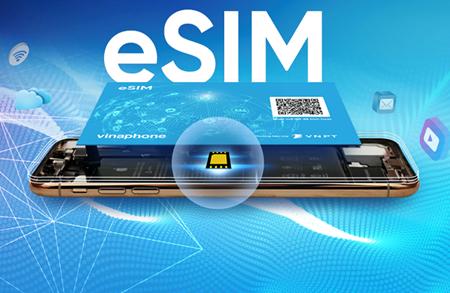 VinaPhone delivers eSIM to pre-orders