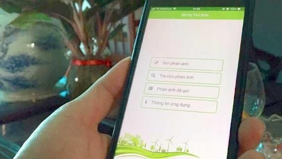 Thu Duc district launches app to receive residents' complaints