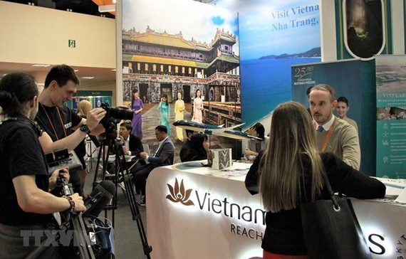 The Vietnamese booth at MITT -2019 (Source: VNA)