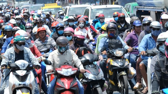 Air quality in Vietnam's big cities now at an alarming level