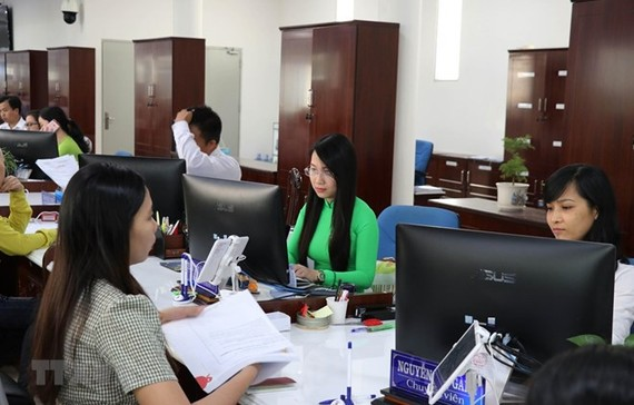 A public administration office in Long An province (Photo: VNA)