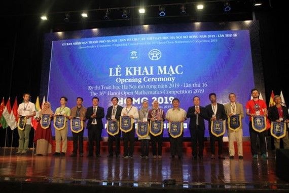 119 International contestants attend Open Math Contest 2019
