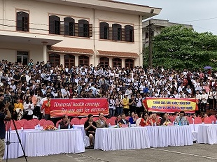 World Health Day 2019 organized in Thai Nguyen Province
