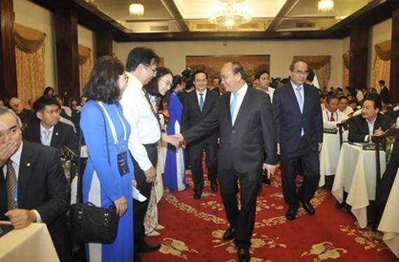 PM Nguyen Xuan Phuc at the event (Source : VNA)