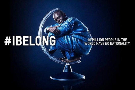 #IBelong Campaign was launched by the UN High Commissioner for Refugees (UNHCR) in 2014 to end statelessness (Source: UNHCR)