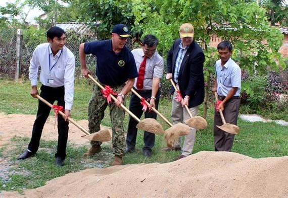 The groundbreaking ceremony (Source: VNA)