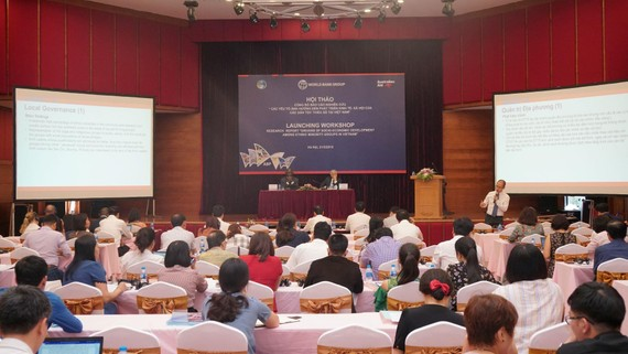 WB study on socio- economic development drivers of ethnic groups in VN