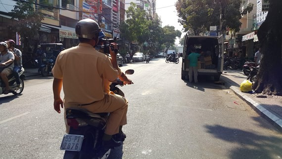 HCMC broadens penalty notice through camera photos