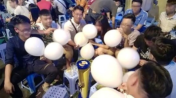 Ministry of Health agrees to ban recreational laughing gas