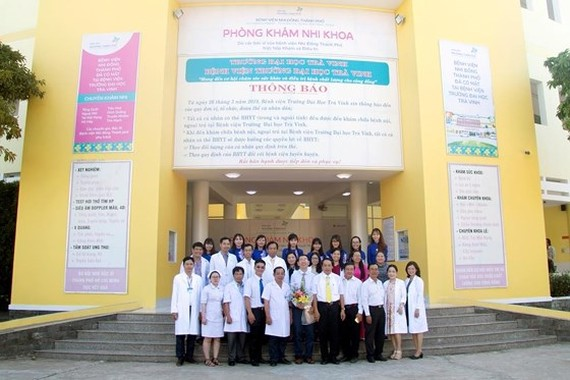 HCMC Children Hospital opens pediatric ward in Tra Vinh Province
