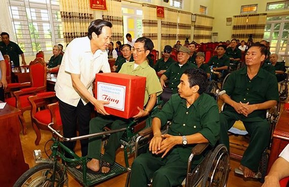 Over $14 million allocated for wounded soldiers, Vietnamese Heroic Mother