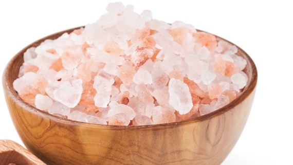Pink Hymalayan salt is advertised to cure ASF