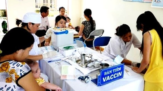 Vaccination is the best way to prevent measles (Photo: SGGP)