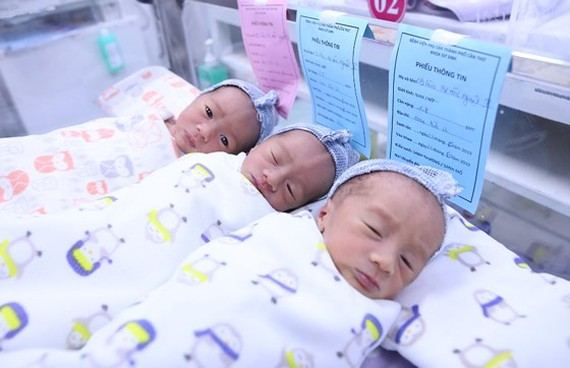 Pre-eclampsia mother of triplet saved