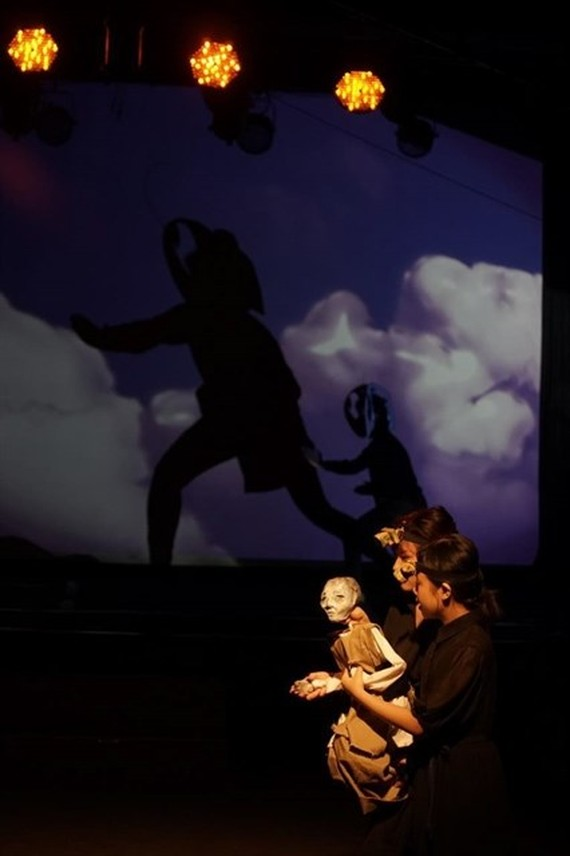 Gao (Rice) will be performed by three puppeteers and one sound artist. — Photos courtesy of Mat Tran Ensemble)