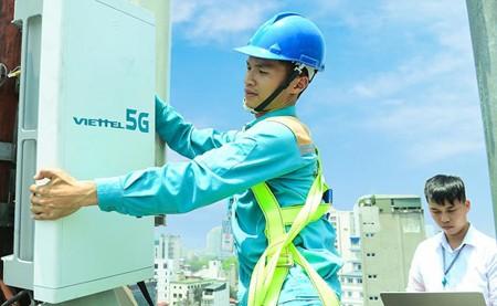 Viettel's 5G station in HCMC. (Photo: SGGP)