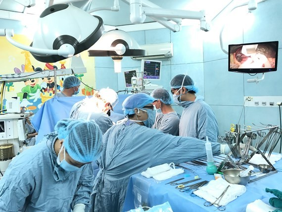 Successful liver transplant on premature baby with end-stage liver disease