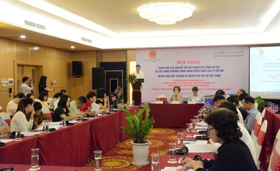Da Nang promotes children rights during urbanization