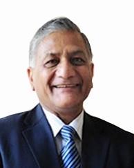 Minister of External Affairs of India Vijay Kumar Singh (Source: www.indianembassy)