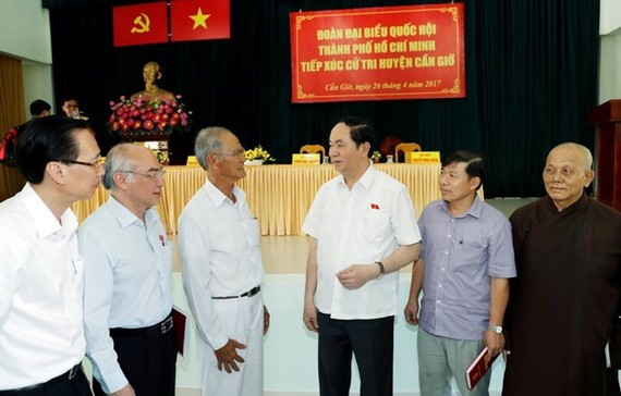   At the meeting (Source: VNA)