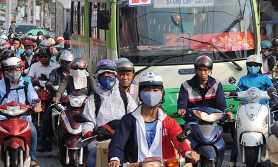 Citizens suffer 35- 38 degrees Celsius temperature. (Photo:SGGP)