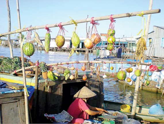 Cai Rang floating market (Photo:SGGP)