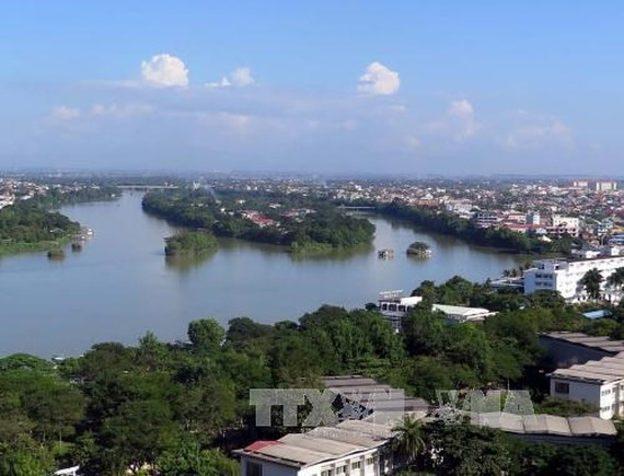 Con Hen is considered as the typical tourism project of Thua Thien- Hue .(Photo:VNA)