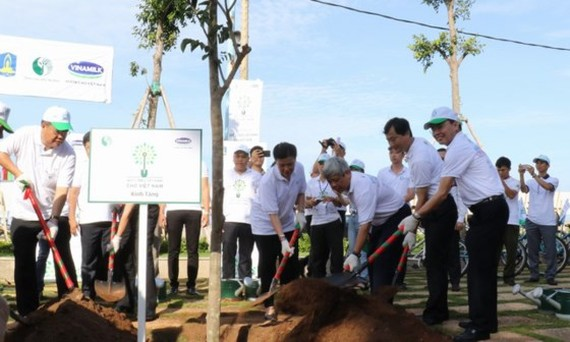 Ba Ria- Vung Tau will plant over 110,000 trees to protect environment.