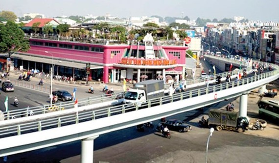 Pham Ngu Lao- Nguyen Oanh overfly will be built at the Go Vap intersection. (Illustrative photo:SGGP)