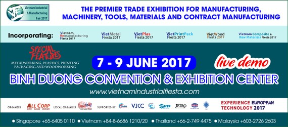 The poster of VIMF 2017 (Photo: http://vietnamfair.net)