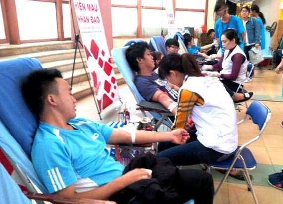 Vietnam hosts World Blood Donor Day for the first time (Photo:SGGP)