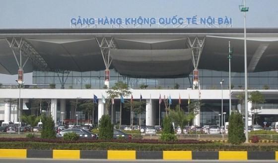 The Noi Bai International Airport renovates its T1 domestic terminal. (Photo:SGGP)