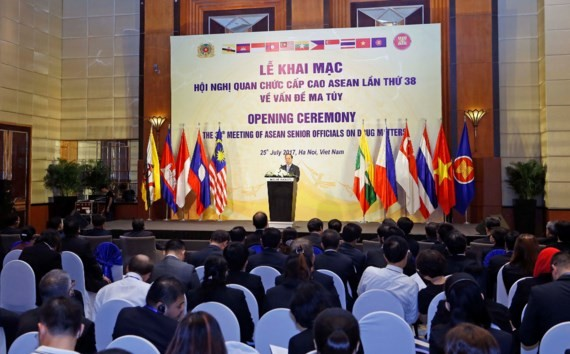 ASEAN Senior Officials Meeting on Drug Matters is opened in Hanoi