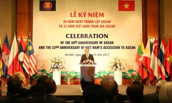 Prime Minister Nguyen Xuan Phuc speaks at the event (Photo: VNA)