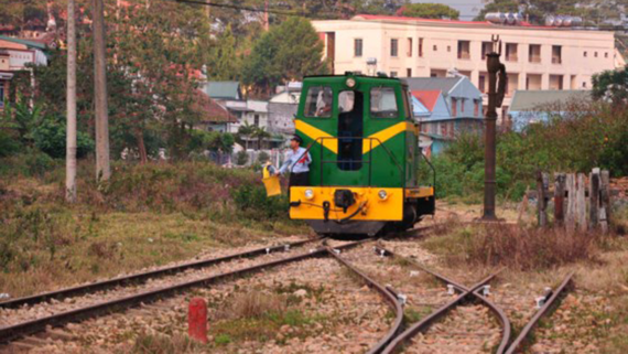 Da Lat - Trai Mat railway will be upgraded before putting into the re-operation.