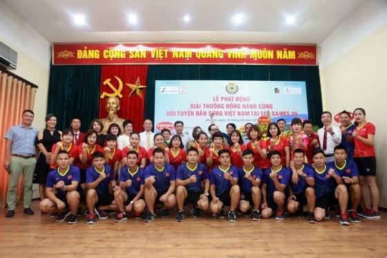 Members of the Vietnam shooting team at SEA Games 2017 (Photo:Ngoc Hai)