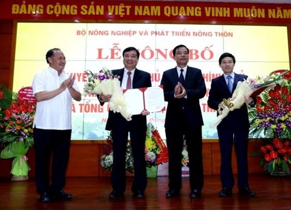 The Ministry of Agriculture and Rural Development holds a ceremony to introduce the General Department of Natural Disaster Prevention and Control