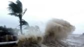 Typhoon Pakhar enters East Sea