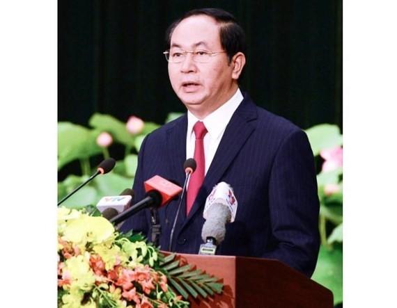 State President of Vietnam Tran Dai Quang sends a congratulation to President of Moldova Igor Dodon.