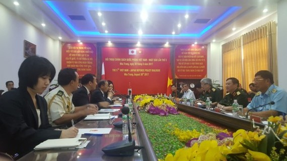 The fifth Vietnam- Japan Defense Policy Dialogue is opened in Nha Trang city of Khanh Hoa province
