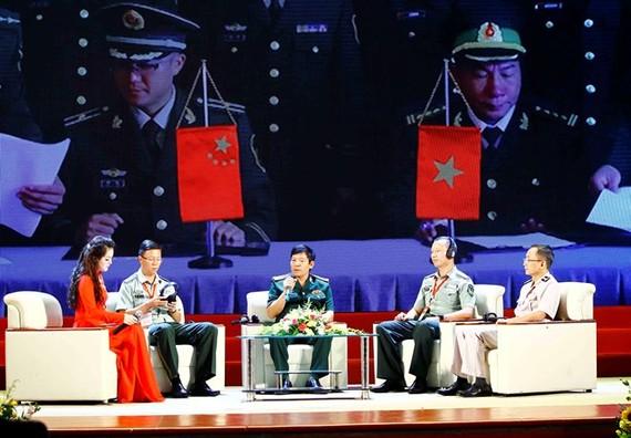 Seminar on the border defence friendship between Vietnam and China (Photo: VNA)