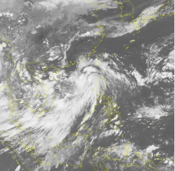 New low pressure zone appears in East Sea