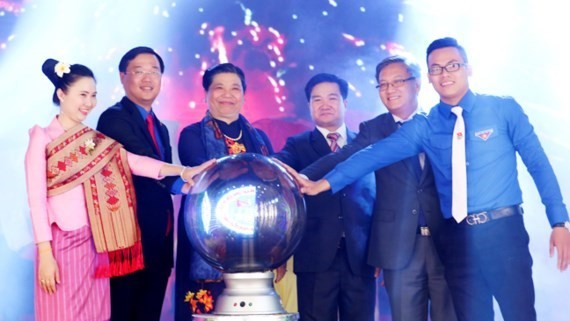 Opening ceremony of friendship meeting between Vietnamese and Lao youths in 2017