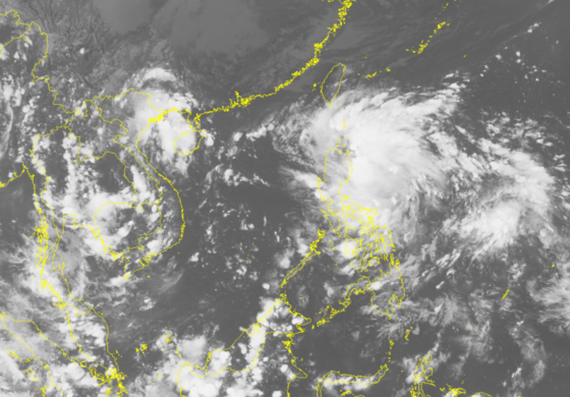 New tropical low depression operates in the East Sea