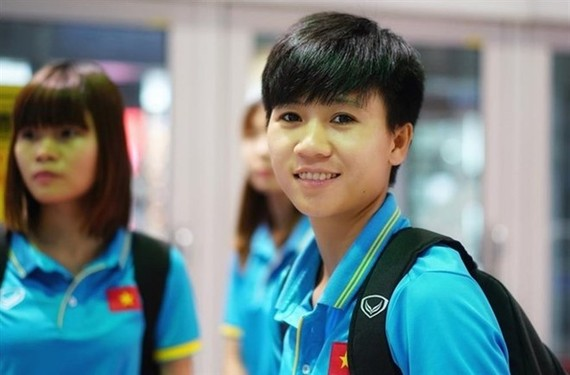 Vietnamese midfielder, Nguyen Thi Tuyet Dung is one of BBC's 100 Women 2017 (Photo: laodong.vn)